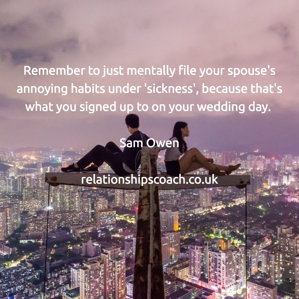 Marriage Quotes © Sam Owen
