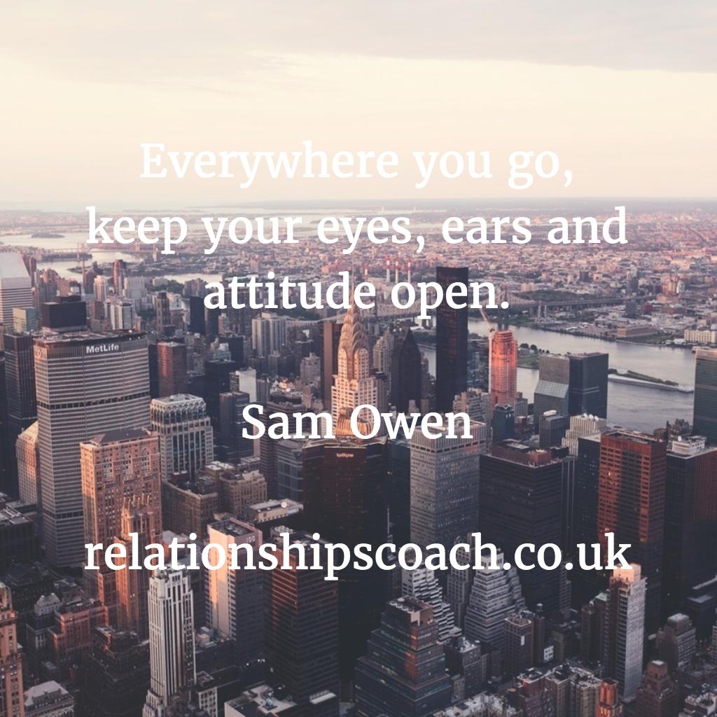 Attitude Quotes © Sam Owen