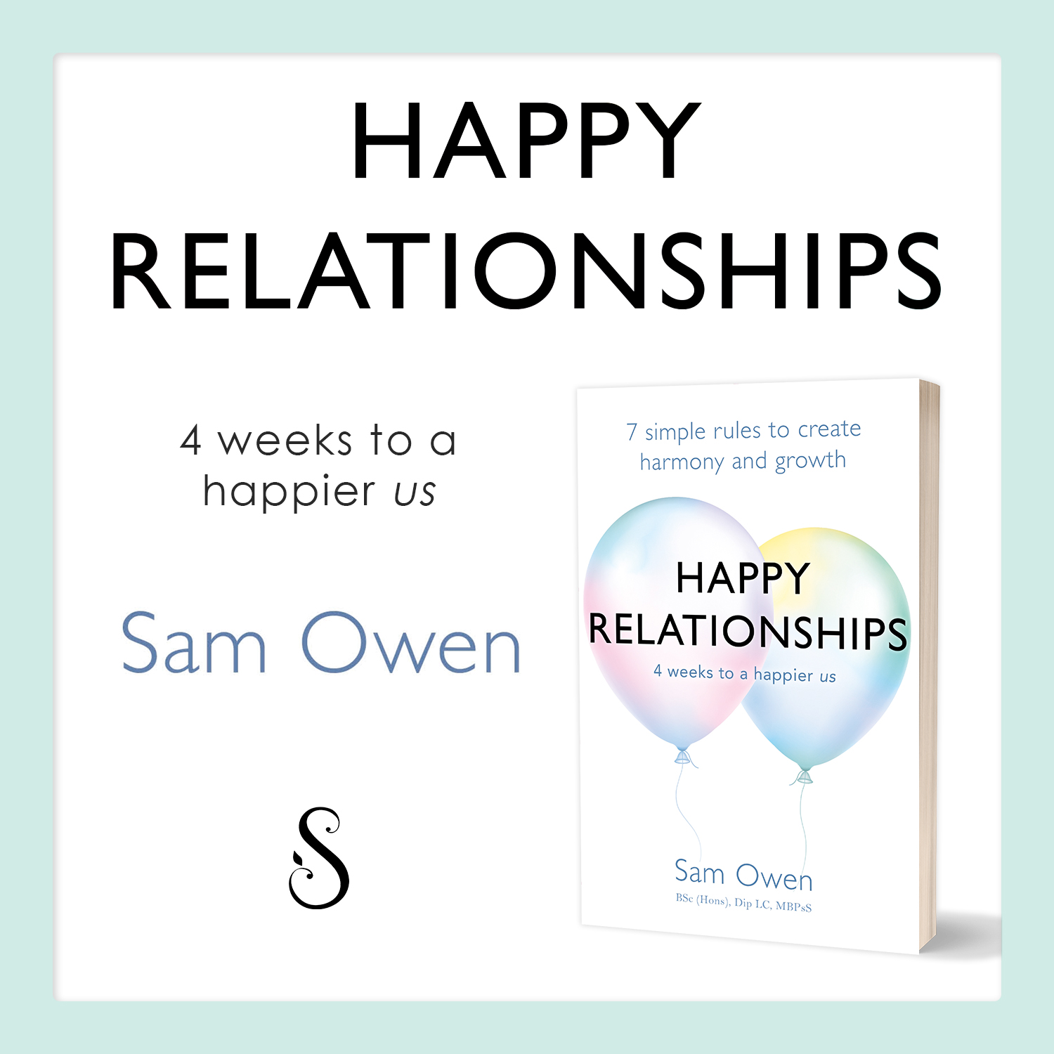 Happy Relationships by Relationship Coach Sam Owen - self-help book