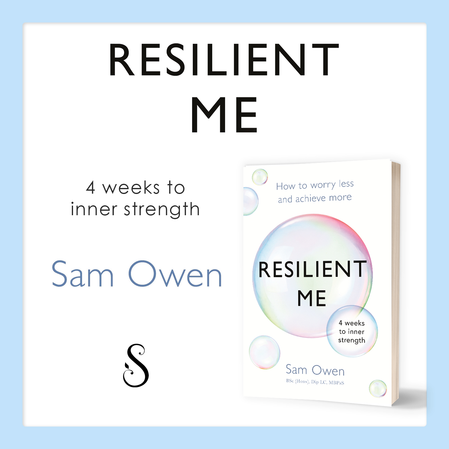 Resilient Me by Relationship Coach Sam Owen - self-help book